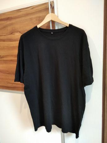 Czarny t-shirt męski rozmiar XXL. Nowy!