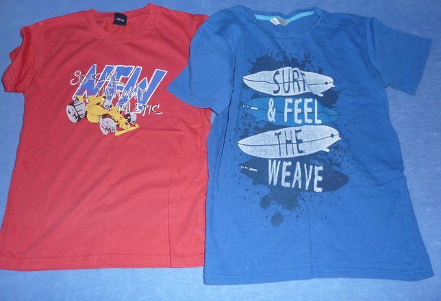 Ubrania chłopięce - zestaw ,szorty, t-shirt rozmiar 140