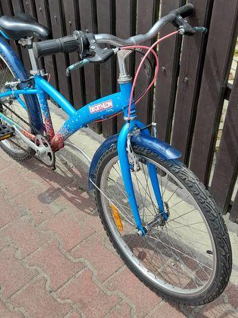 """Rower francuski marki DECATHLON ,kola 24""""."""