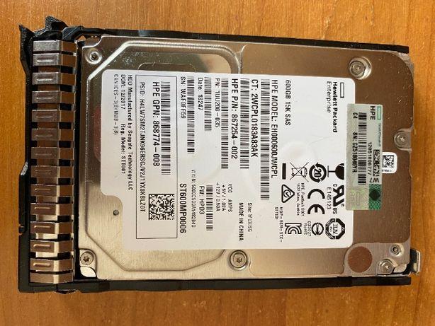 Жесткий диск HP 600GB SAS 12G 15K SFF MSA EH000600JWCPL