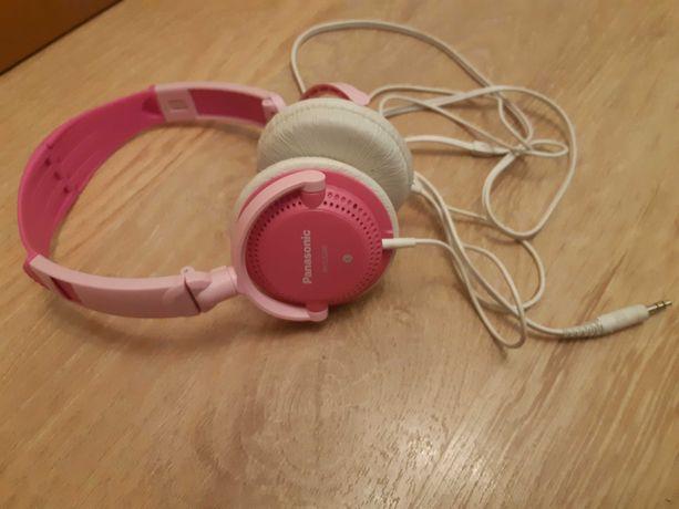 Słuchawki Panasonic różowe