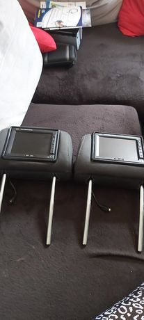 Zagłówki z monitorami LCD AUDI