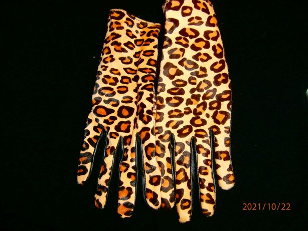 перчатки натуральная кожа мех пони новые