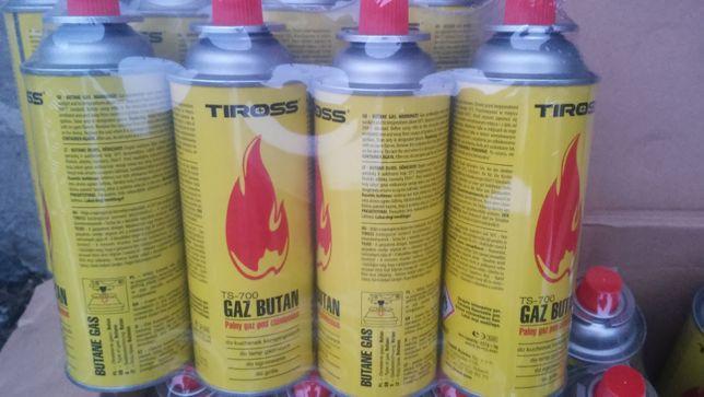 Gaz Kartusz Tiross 400ml