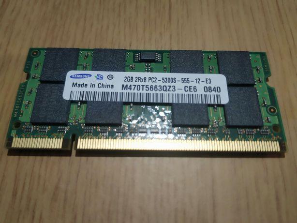 Memória RAM DDR2 para Portátil