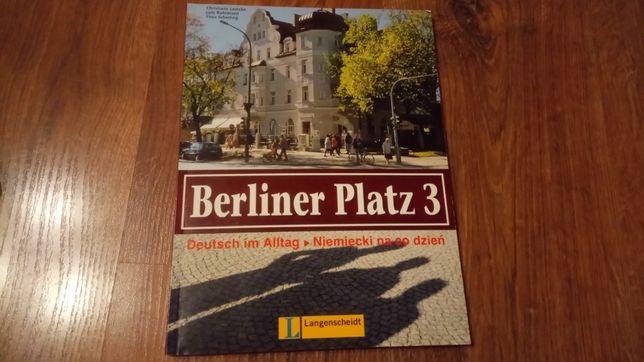Berliner Platz 3 książka z ćwiczeniami do języka niemieckiego