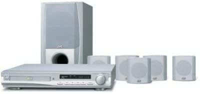 Conjunto home cinema JVC/leitor de DVD - TH-A25