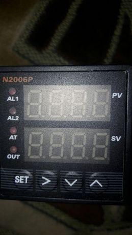 термореле - температурный контролер N2006P-612 + реле 25А+ датчик 2