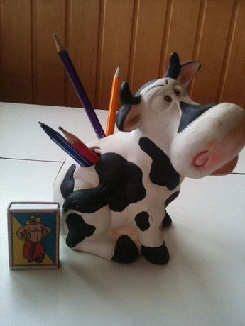 Корова подставка под карандаши и ручки подарок