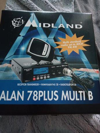 Cb radio nowe!Midland Alan 78 plus multi B
