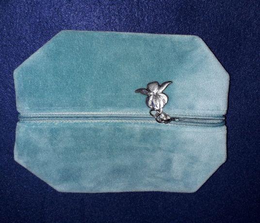 Bolsa/ Estojo/ Necessaire de veludo Sisley