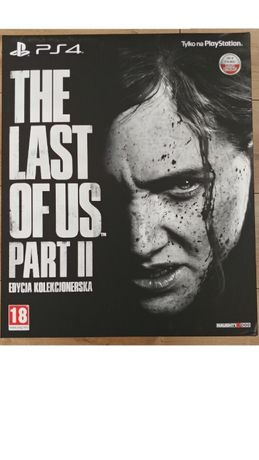 The Last of Us 2 II Edycja Kolekcjonerska PS4 PL - NOWA