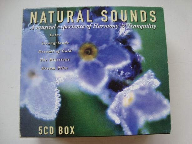 5шт СД Natural Sounds