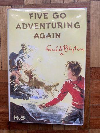 Five Go Adventuring Again. Ed. inglesa original dos Cinco de E. Blyton