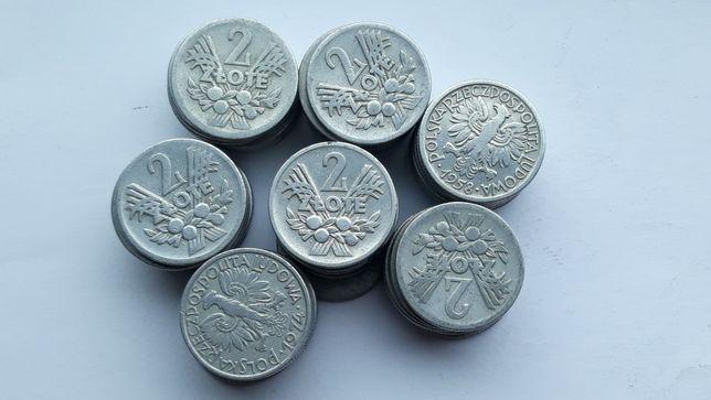2zł Jagody 70 sztuk monety z PRL