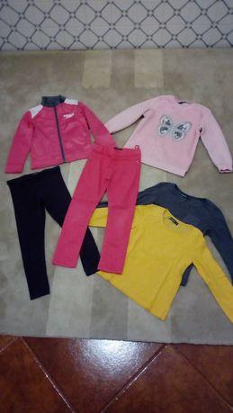 Lote roupa menina 6 anos - 6 peças