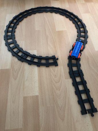 Lego duplo klocki tory dodatkowe Wagonik