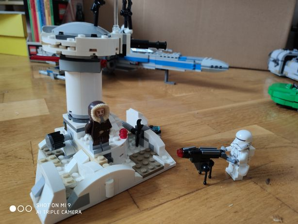 Напад на планету хот лего зоряні війни lego star wars