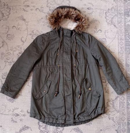 Куртка Parka  для вагітних h&m Mama розмір L