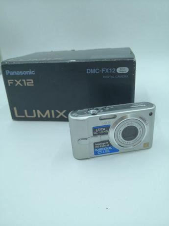 Panasonic Lumix FX12 Aparat Cyfrowy Zestaw