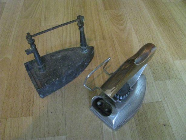 Stare żelazka - 2 szt