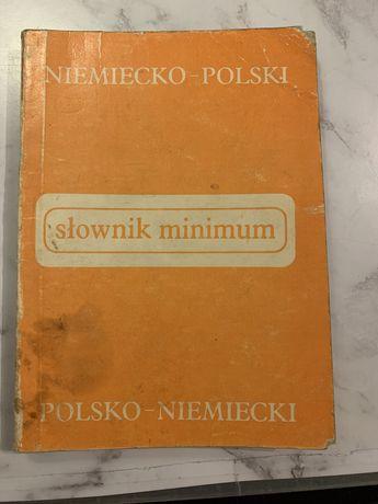 Słownik minimum polsko-niemiecki