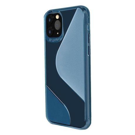 Capa Silicone Lmobile Tipo S Iphone 12 Mini - Azul