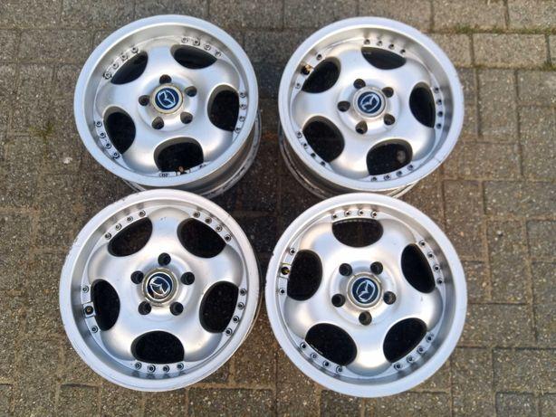 """Felgi aluminiowe 15"""" 6,5J 5x114 EMR Product Honda Mazda Hyundai"""