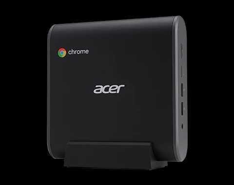 Mini PC Acer Chromebox 8 GB RAM, 64 GB SSD, novo selado