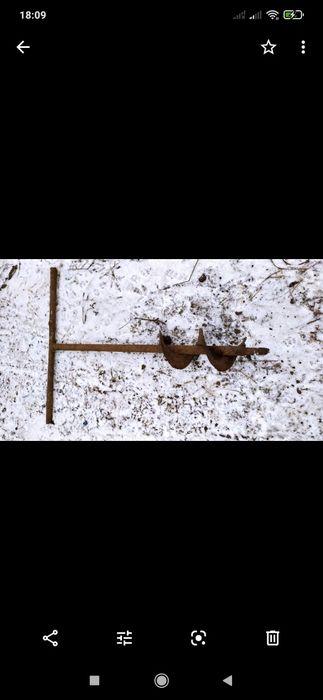 Б\у  шлак  сверло  для  посадження дерев Тернополь - изображение 1