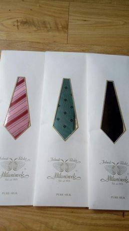 Krawaty męskie jedwabne Milanówek