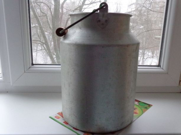 Бидон алюминиевый.10 литров.