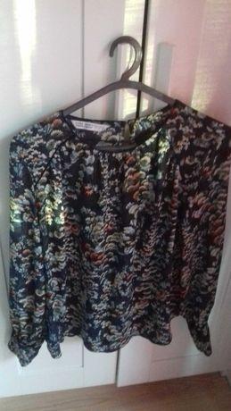 Blusa Zara flores