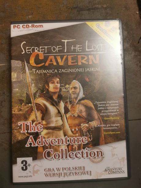 Secret of the lost cavern - Tajemnica Zagnionej Jaskini PC