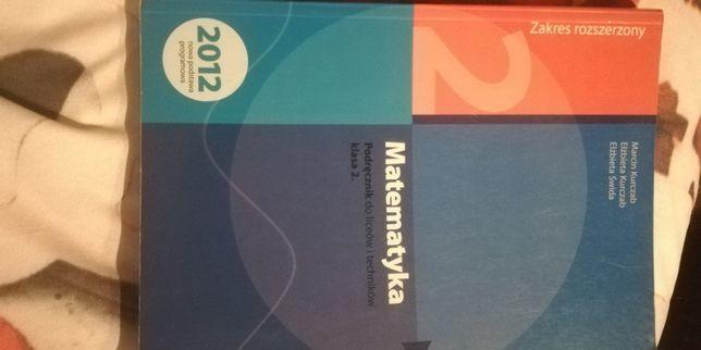 Matematyka podręcznik klasa 2 poziom rozszerzony