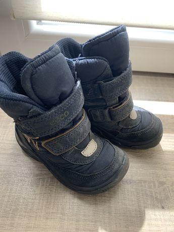 Зимние ботинки Ecco 23 размер