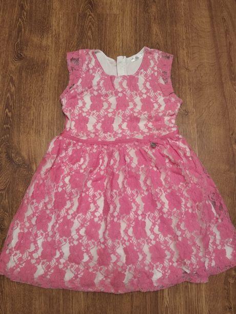 Кружевное платье нарядное на 5-7 л