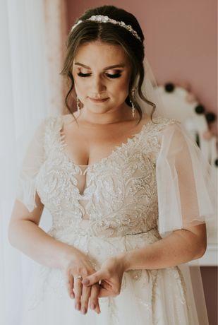 Suknia ślubna TOM SEBASTIEN, model BRIGITTE