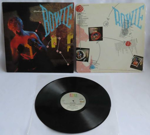 David Bowie Let's Dance LP UK 1983 Британская пластинка EX 1 press