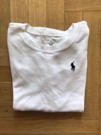 Biała dziecięca bluzka Polo Ralph Lauren