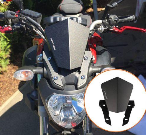 Vidro viseira Yamaha MT 07 e MT-09 MT 07 MT 09 corta vento