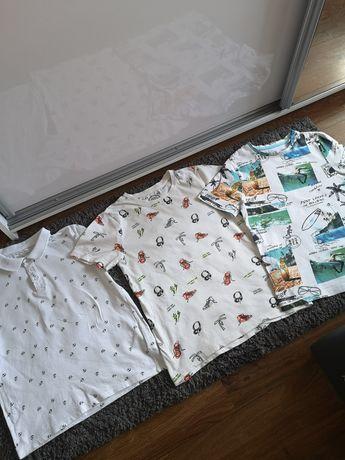 Koszulki dla chłopca rozm. 134-140,idealny stan jak nowe