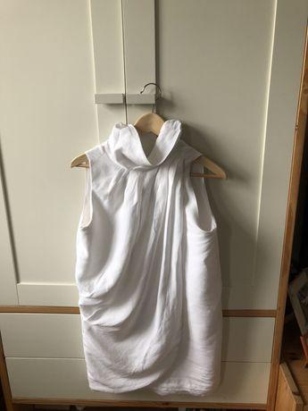Śliczna biała sukienka Zara,roz.m