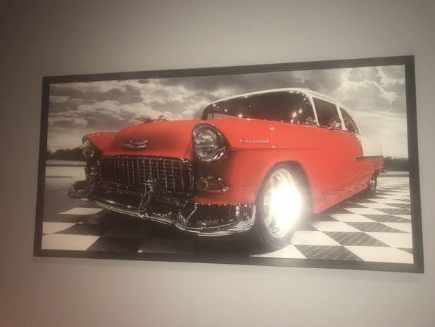 Obraz samochód 103x52