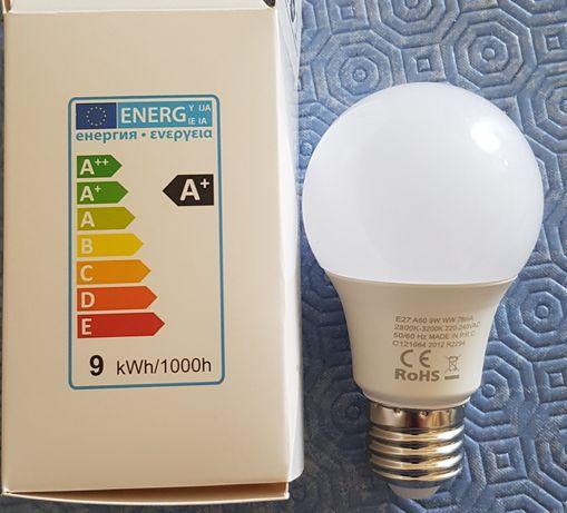 Lâmpadas LED E27 novas