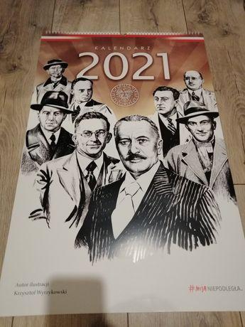 Nowy kalendarz kolekcjonerski 2021 Moja Niepodległość