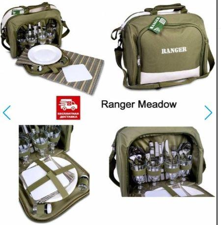 Набор посуды для пикника, охоты, рыбалки,  Ranger Meadow.