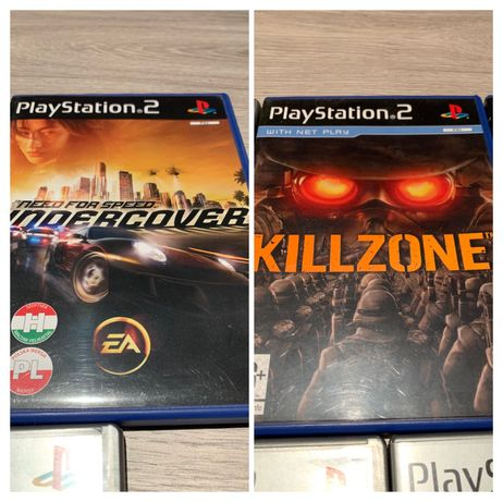 Gry PS2 Killzone, NFS Undercover