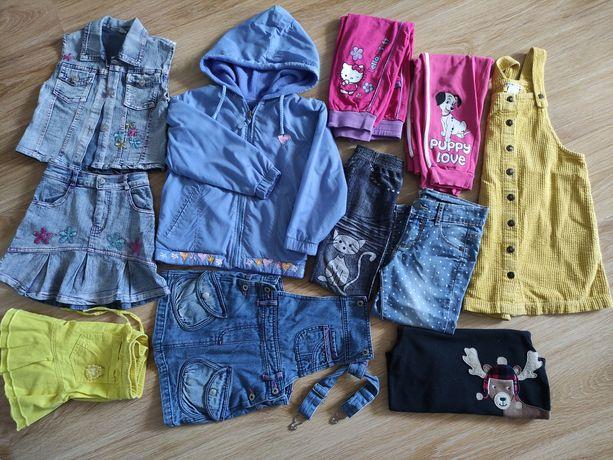 Ubrania dziewczynka 110-116