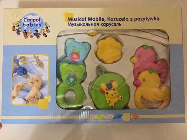Мобиль на детскую кроватку фирмы Canpol baby